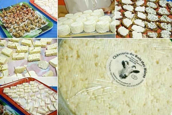 Delicious goat cheese from Wallonia