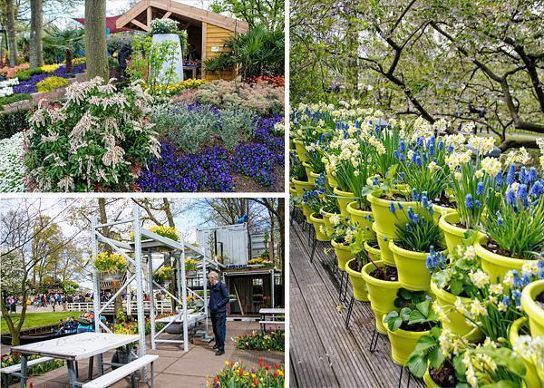 The inspiration gardens at Keukenhof