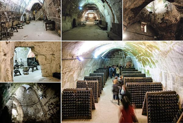 Exploring the caves of Champagne G.H. Martel