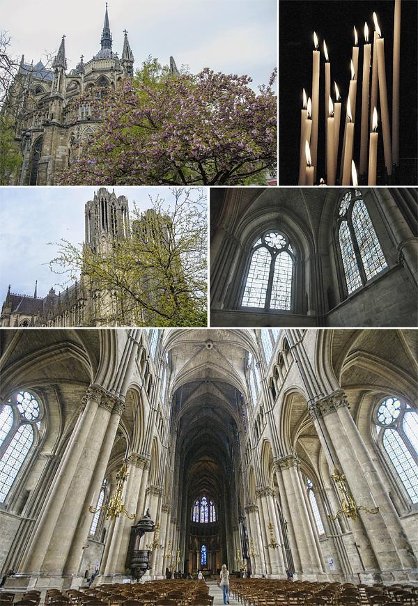 The dramatic Reims Cathedral