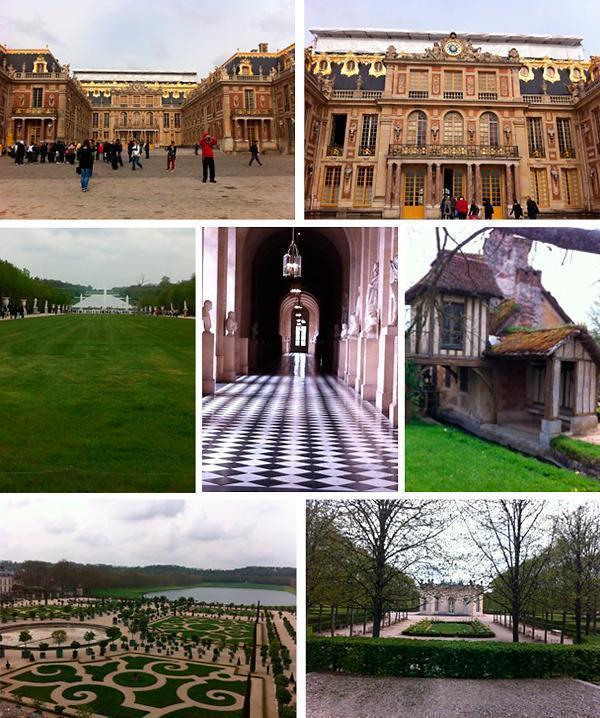 Leigh Anne's visit to Versailles focused on the stunning gardens and surroundings