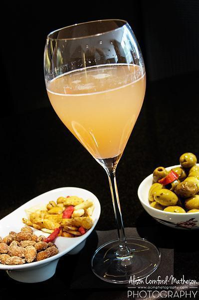 A perfectly refreshing Bellini