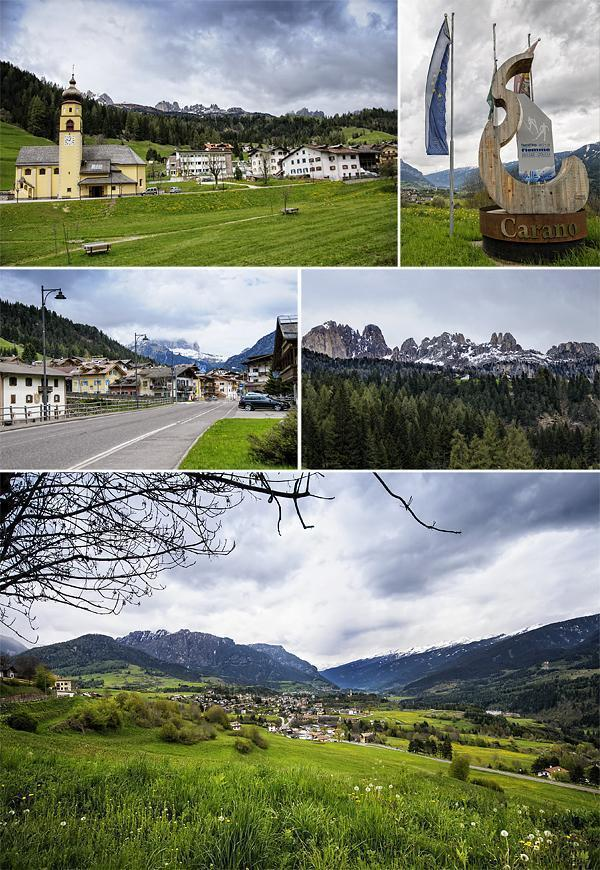 The view from Carano and several of the mountain towns we discovered on our road-trip