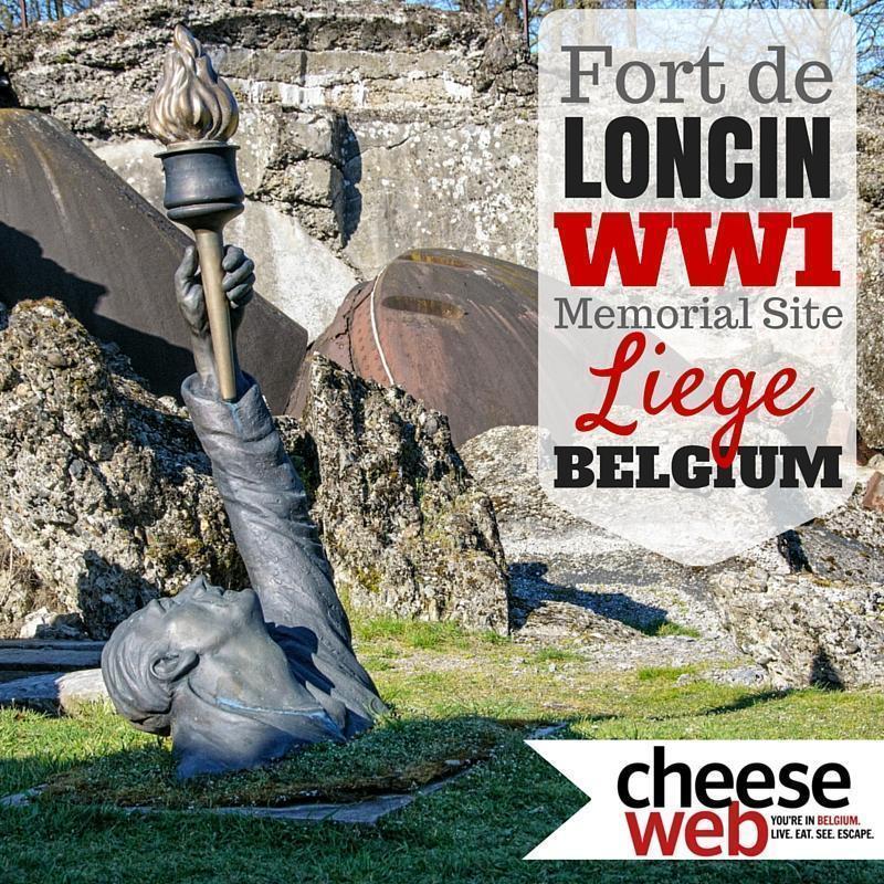 Fort de Loncin, Liege, Belgium