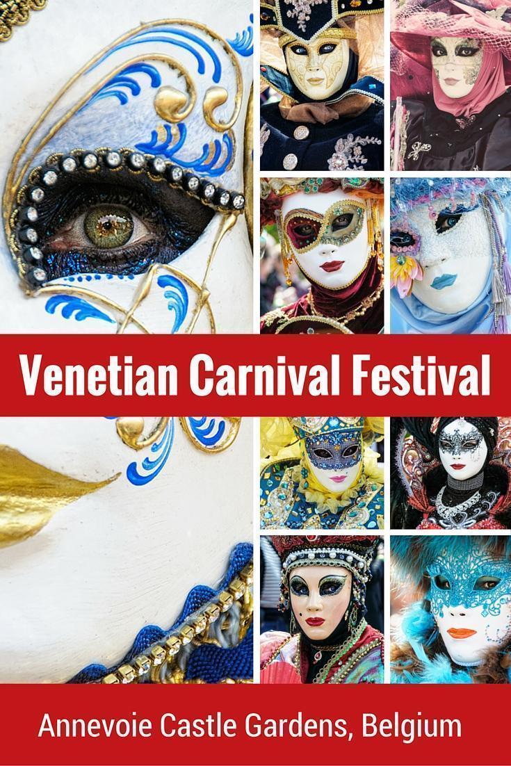 The Venetian Festival at the Annevoie Gardens, Belgium