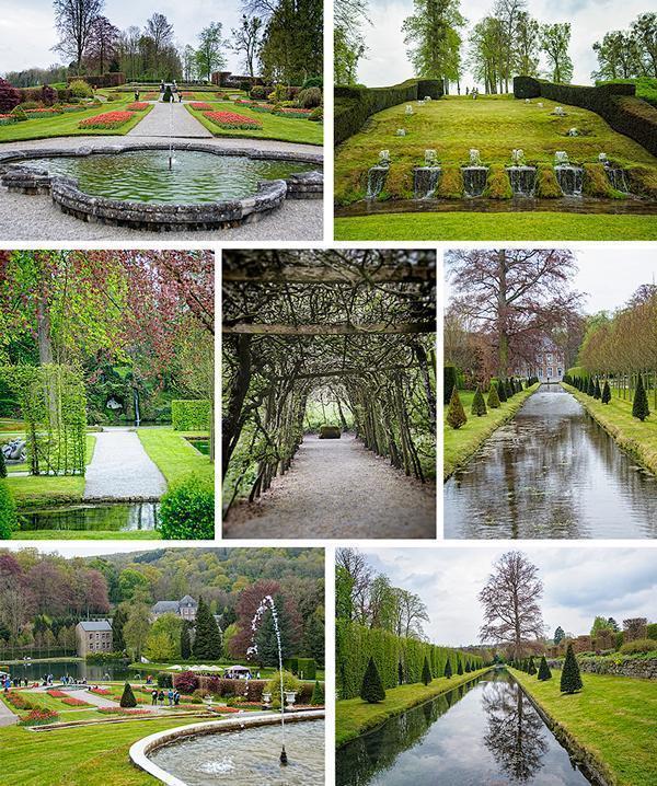 Annevoie Gardens has yet to hit its peak.