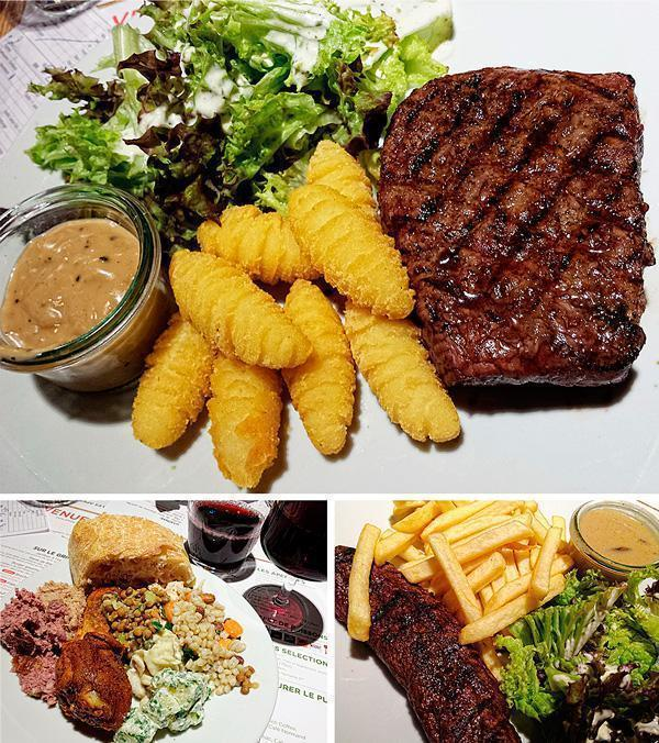 Food at Colmar Restaurant