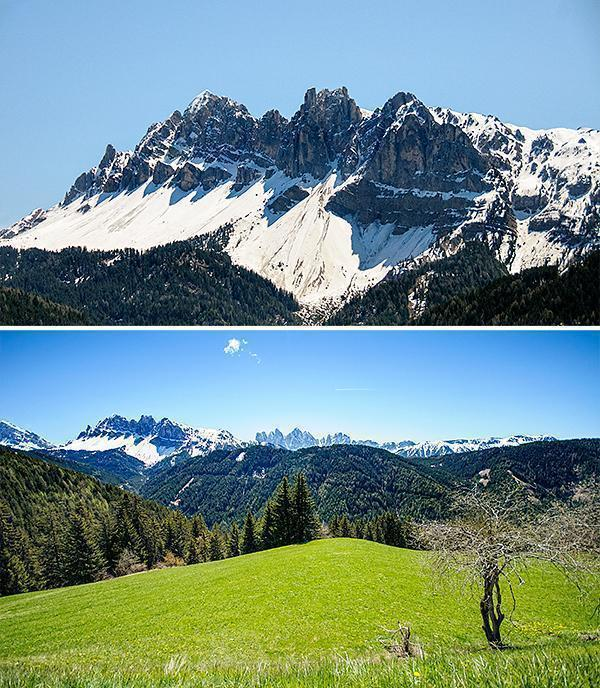Well, at least we had another view of the Dolomites...