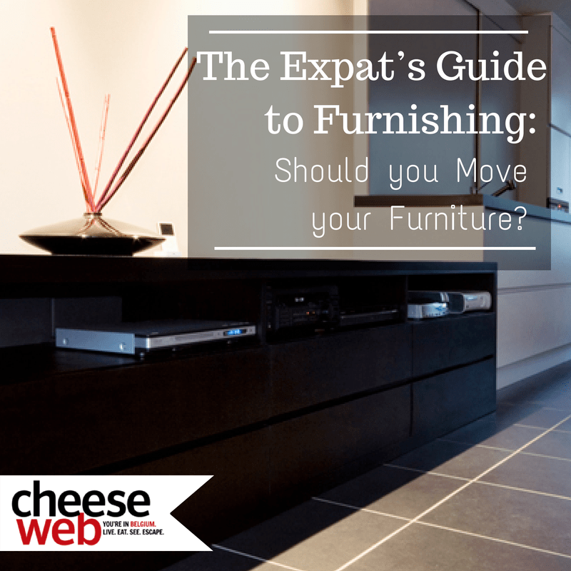 The Expat's Guide to Furnishing: Should you bring your own furniture?