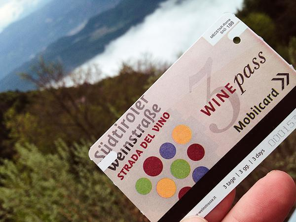 Time to test the Wine Pass