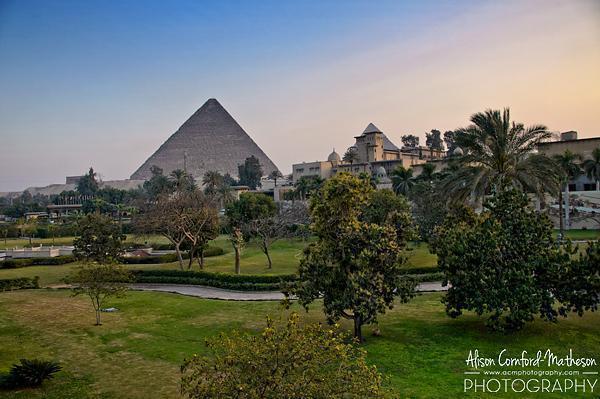 I am definitely in Egypt now.