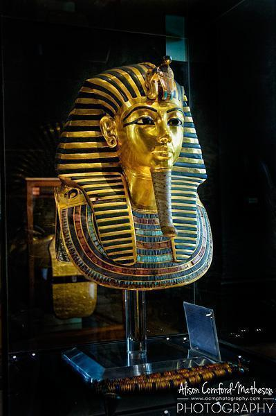 Meeting King Tut face to face