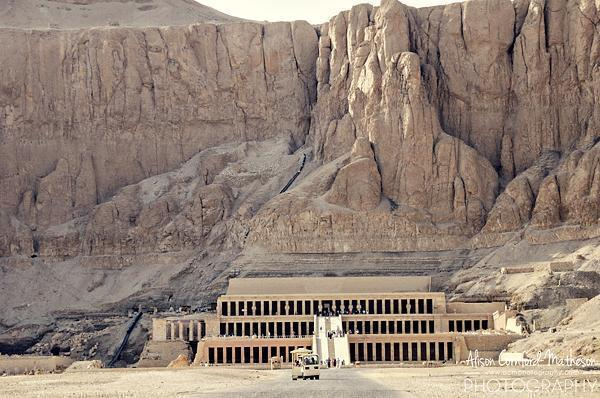 Hatshepsut's temple at Djeser-Djeseru