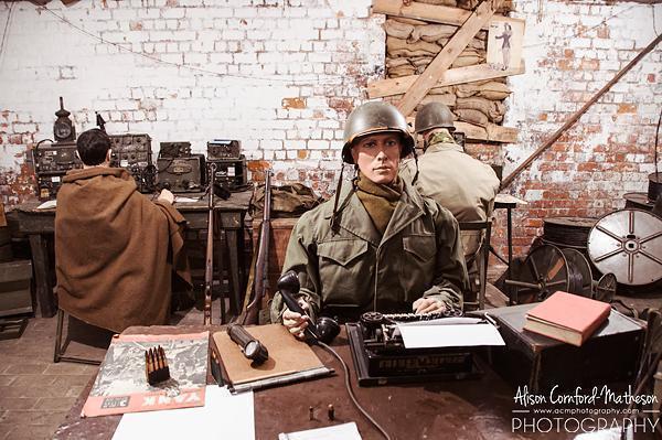 Inside the Bastogne Barracks Museum