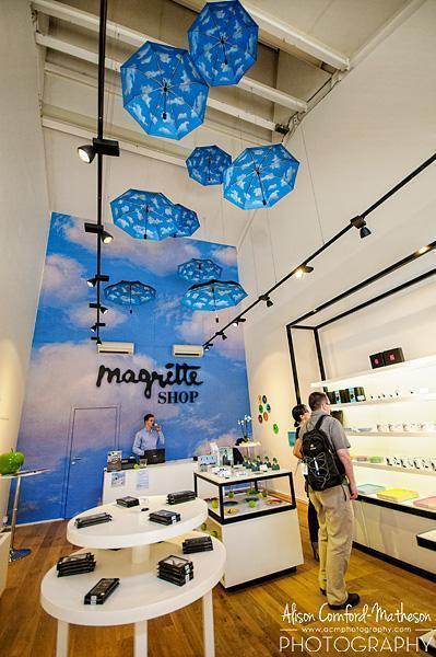 The Magritte Museum Shop inside Maasmechelen Village