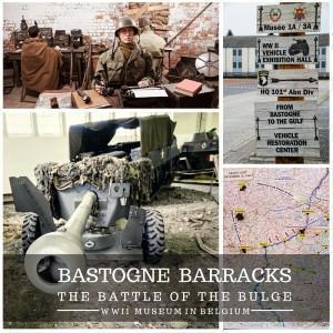 Visiting the Bastogne Barracks Museum, Wallonia, Belgium