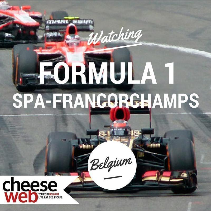 Watching Formula 1 at Spa-Francorchamps