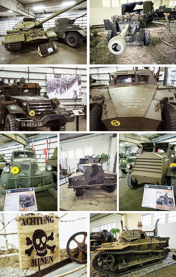 Part of the military vehicle collection
