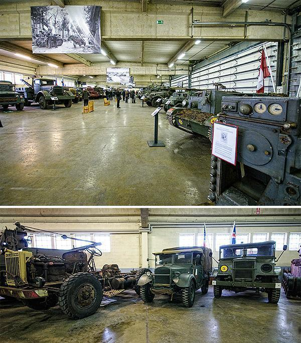 Inside the Vehicle Restoration Centre