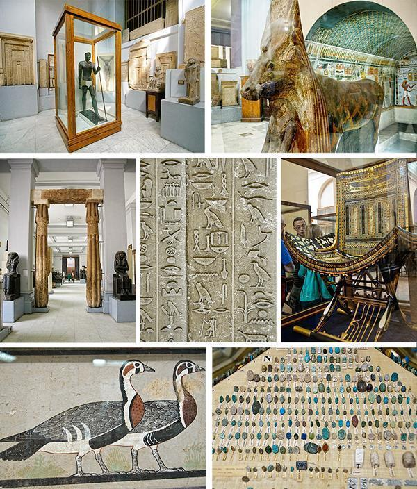 Clattered but Charming - the displays of the Egyptian Museum