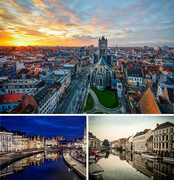 Adriana's favourite place in Belgium is beautiful Ghent!
