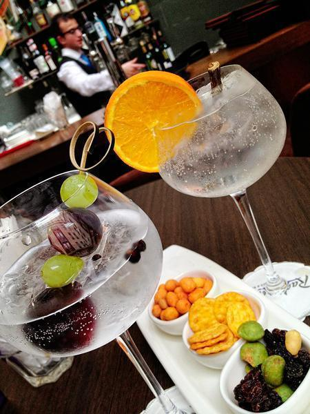 Mmm, delicious gin and tonics!