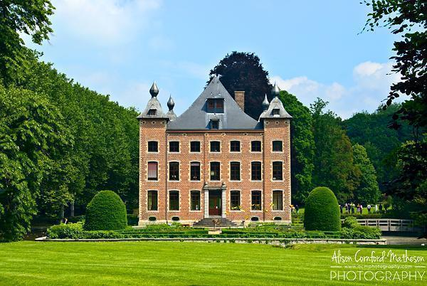 Coloma Castle and Rose Garden, Vlaams-Brabant, Belgium