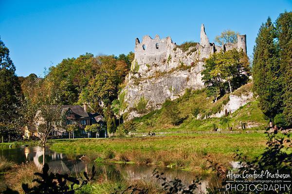 Montaigle Castle Ruins, Namur, Belgium