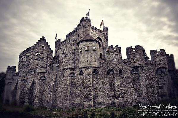 Gravensteen (Castle of the Count), Ghent, Belgium