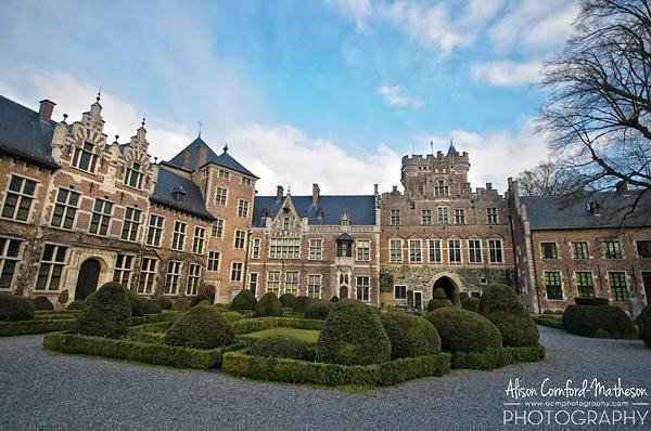 Gaasbeek Castle, Vlaams-Brabant, Belgium