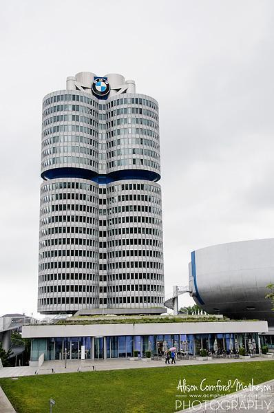 The BMW Museum - Can you recognize the shape?