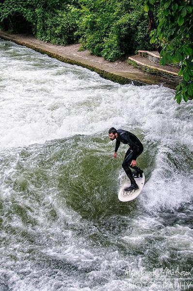 A creative why to surf in a landlocked city