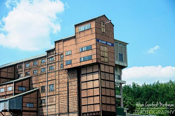 Blegny Mine, UNESCO World Heritage Site in Liege province, Belgium