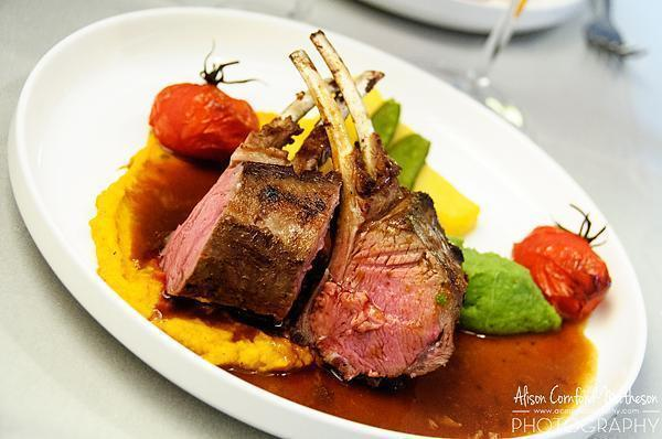 My lamb was perfection!