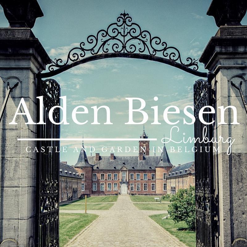 Alden Biesen Castle and Gardens in Limburg, Belgium