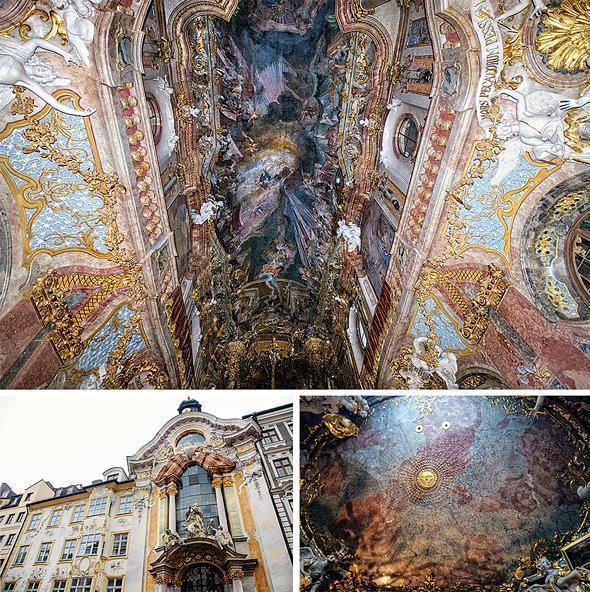 Asamkirche, also known as St. Johann Nepomuk, is anything but understated