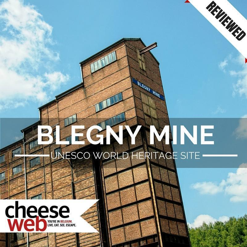 Visiting the Blegny Mine, Liege, Belgium