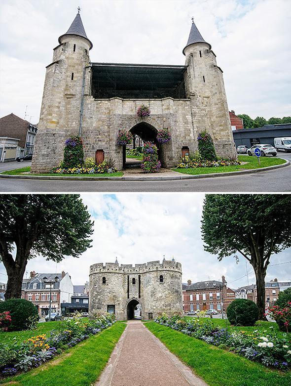 Cambrai's pretty Paris Gate