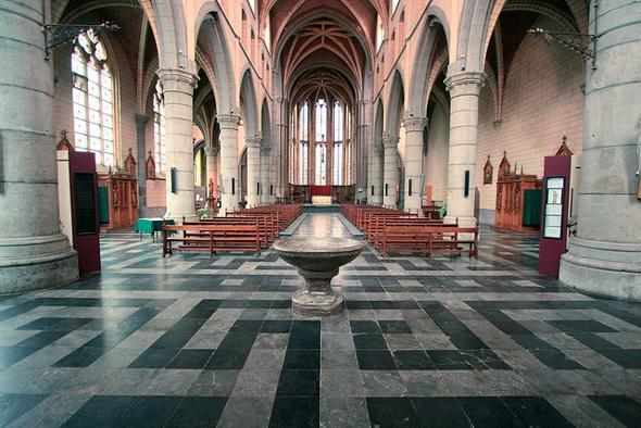 Val-Dieu Abbey Church today by Claus Moser