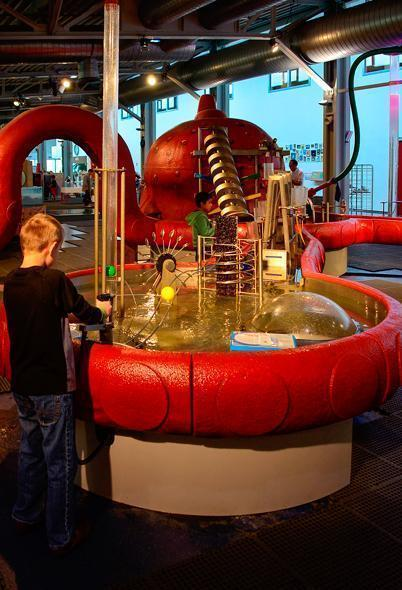 Wet and wild experiments at Technopolis