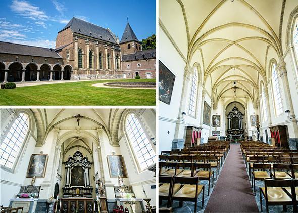 Alden Biesen's tranquil chapel