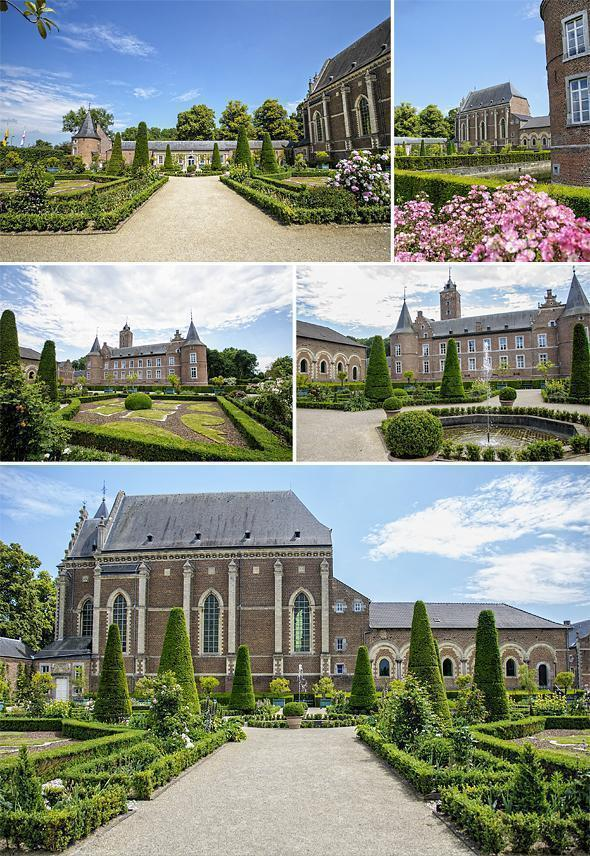 It's impossible to resist Alden Biesen's beautiful garden