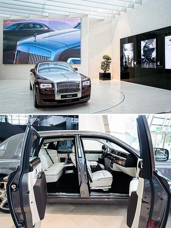 To decadent Luxury vehicles at BMW World