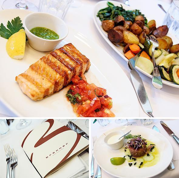 Fresh, colourful and delicious food at Brenner Restaurant in Munich