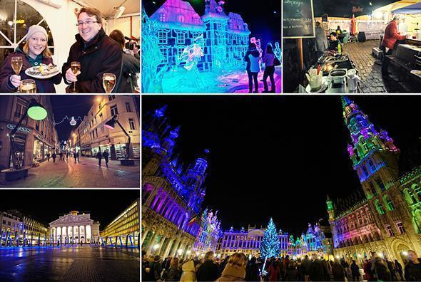 The Brussels Christmas Market is more than just food, but the food is our favourite part!