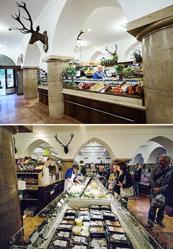 Luxury foodie Mecca, Dallymar in Munich