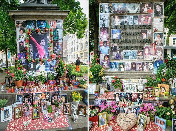 The odd tribute to Michael Jackson in Munich