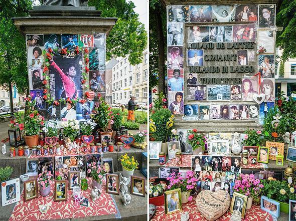 The odd tribute to Michael Jackson in Munich