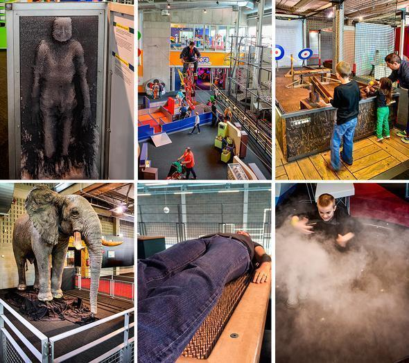 Touching clouds and sleeping on a bed of nails are just a few of the things you can do at Technopolis
