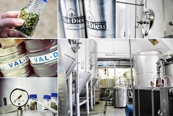 Inside Val-Dieu's Belgian Brewery
